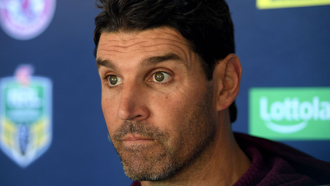 Manly CEO Lyall Gorman expecting Trent Barrett resolution in coming weeks