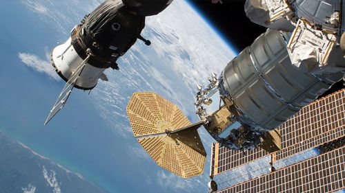 NASA and Russian space officials have stressed the six astronauts were in no danger.
