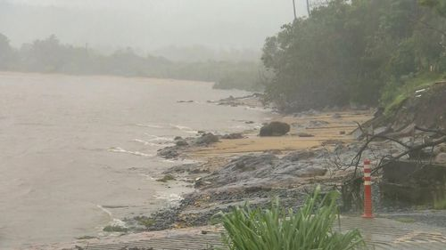 High tides are expected in some parts of Queensland, potentially complicating flood risks from Cyclone Kimi.