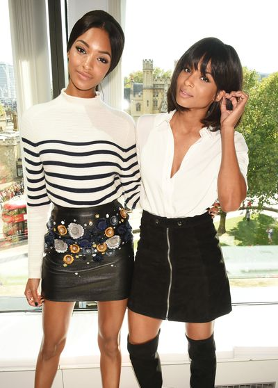 Jourdan Dunn and Ciara.