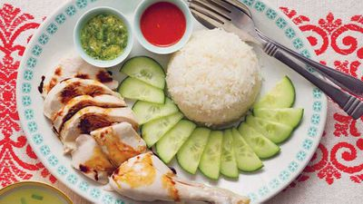 <strong>Poh&rsquo;s Hainanese chicken rice</strong>