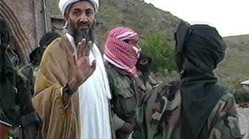 Osama Bin Laden, the now deceased former leader of terrorist group al Qaeda.