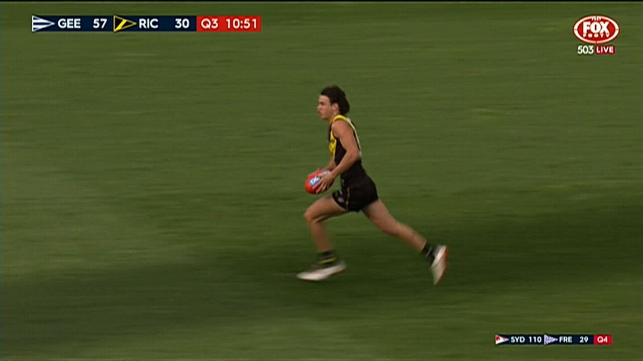 Daniel Rioli scores for Richmond