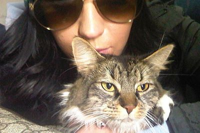Katy Perry's best friend Kitty Purry is a catlebrity in her own right. She even has her own Twitter handle @TheKittyPurry