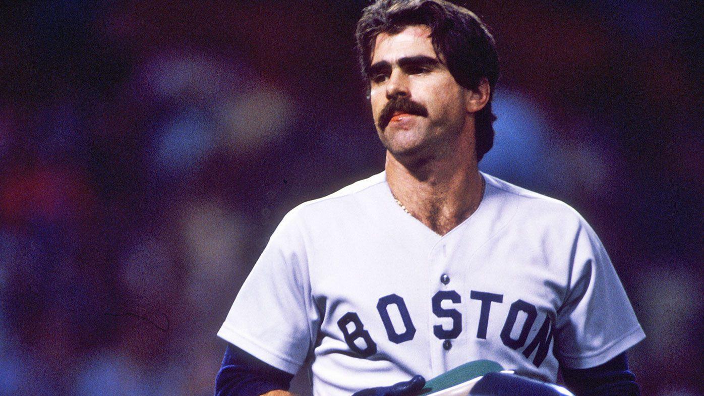 Bill Buckner with Boston in 1986