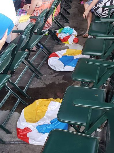 Image result for deflated beach ball
