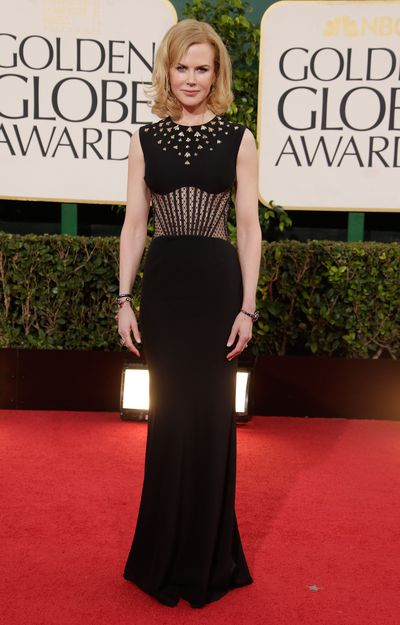 Nicole Kidman in Alexander McQueen at the 2013 Golden Globes