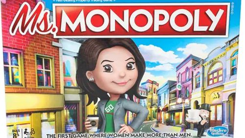 Women make more than men in the new Monopoly.