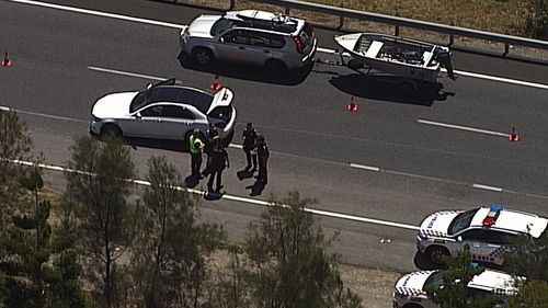 Southern Cross Way police chase