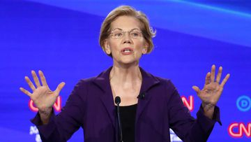 Many candidates took aim at Elizabeth Warren.