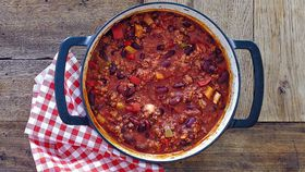 Easy one-pot chilli