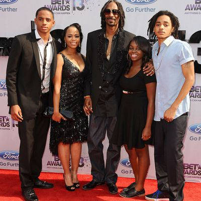 Snoop Dogg, 45, and Shante Taylor: Married 19 years*