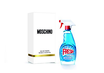 "<a href=""https://www.moschino.com/us/fragrance_cod62000819hg.html"" target=""_blank"">Moschino Fresh EDT (100ml), $125.00.</a>&nbsp;"