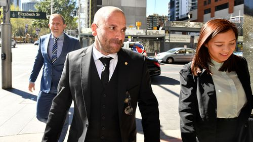 The celebrity chef has appeared in court for the first time. (9NEWS)