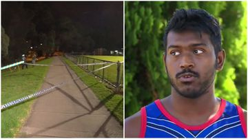 Oztag players 'started running' after shots fired at teen metres from park