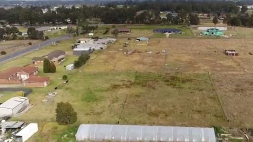 Badgerys Creek could become the nation's new fresh food hub. (9NEWS)