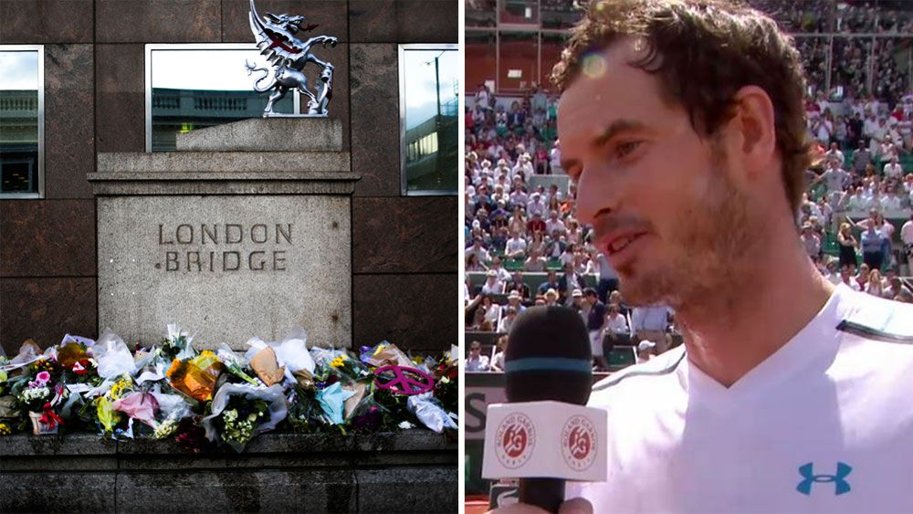 Andy Murray pays tribute to terror victims after win over Karen Khachanov at French Open
