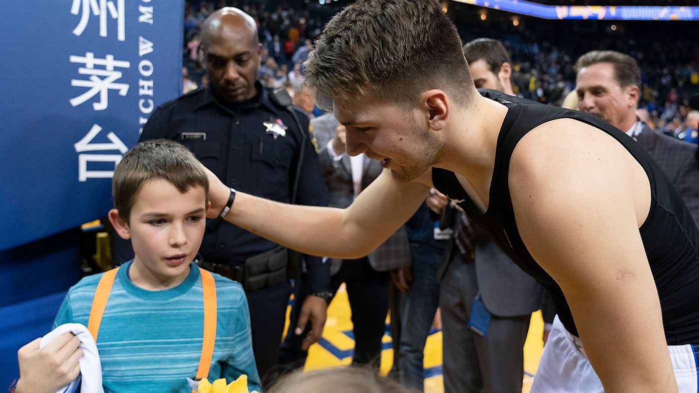NBA Rookie of the Year favourite's heartwarming gesture to young fan