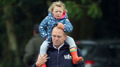 Mia Tindall hitches a ride with Dad at the Whatley Manor horse trials