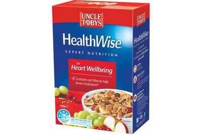 Uncle Tobys Healthwise: 18.4g sugar per 45g serve (with milk)