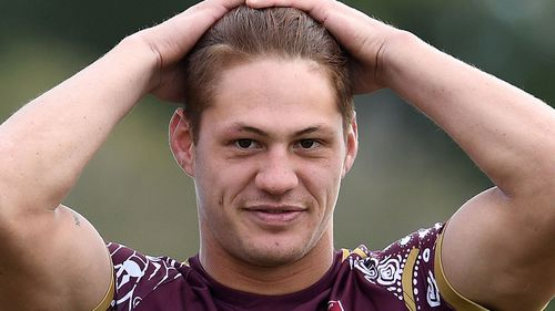 Ponga believes his brother will be with him when he plays at ANZ Stadium tonight. Image: AAP