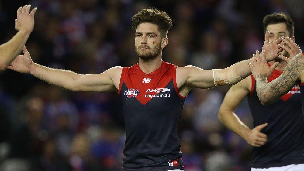 Dominant Melbourne Demons stun Western Bulldogs in fiery AFL clash at Etihad Stadium