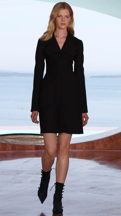 This Dior look means (Presidential) business.