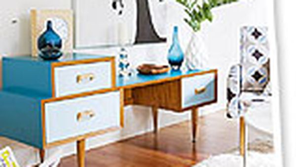 make it: revamped laminated sideboard