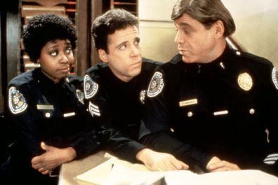 Art Metrano stars in Police Academy.