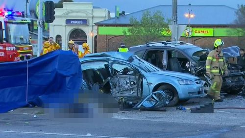 Two teens died at the scene of the crash in Cranbourne.