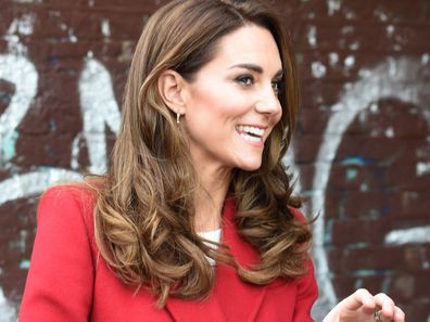 Kate Middleton glossy hair bouncy blow dry