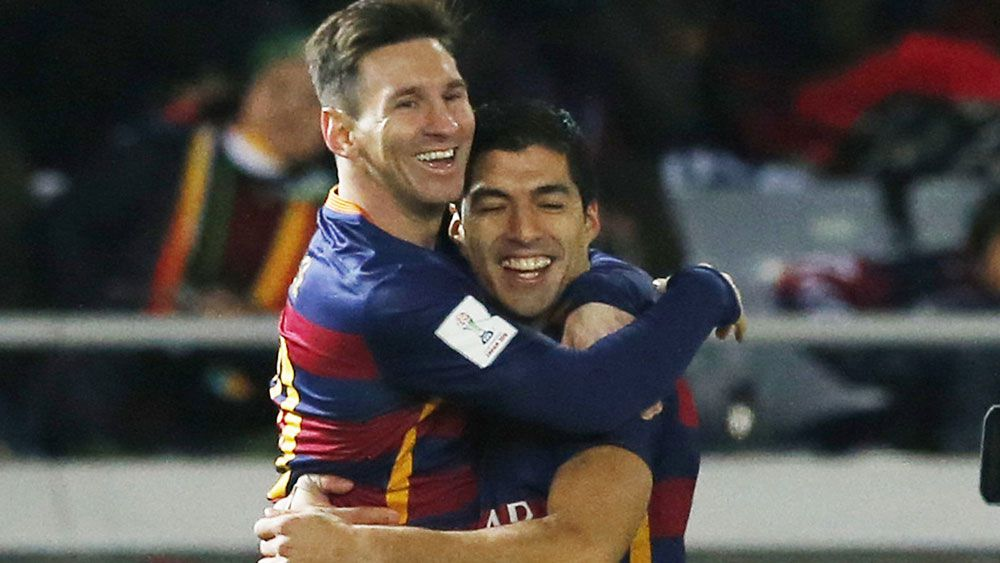 Messi, Suarez lead Barca to CWC triumph
