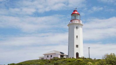 Lighthouse at Coolangatta's Point Danger