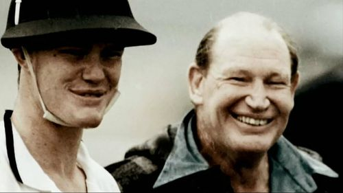"Kerry Packer was ""too hard"" on his son at times, friends have said."