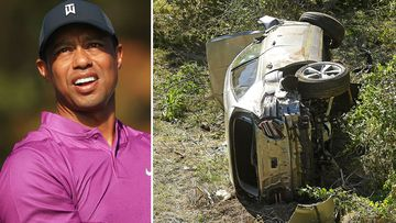 Tiger Woods travelling at almost twice the speed limit before crash