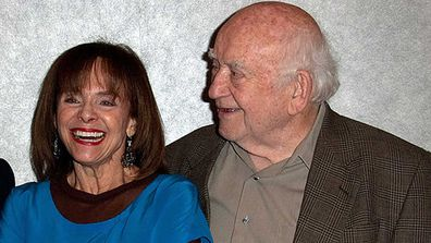 Valerie Harper and Ed Asner starred together on the Mary Tyler Moore show.