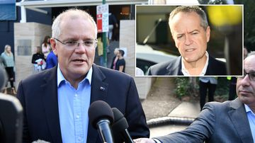 Morrison announces agenda as nation awaits final results