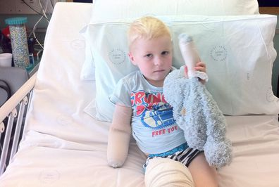 Knox recovering in hospital.