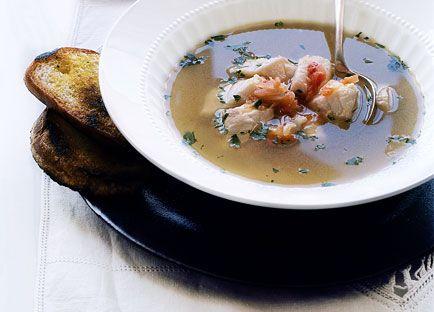 Fish soup (broeto)