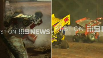 'Wild ride': Driver's lucky survival after horror race crash