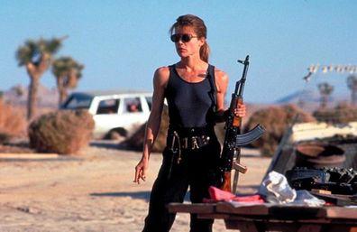 Linda Hamilton , Terminator 2: Judgment Day.