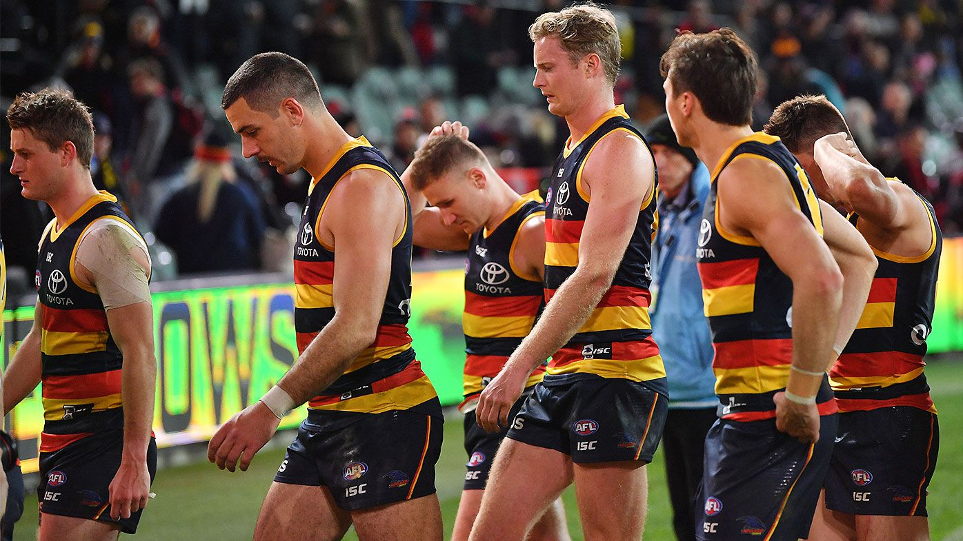 Adelaide Crows' biggest flaw laid bare by ruthless Bomber counter attacks