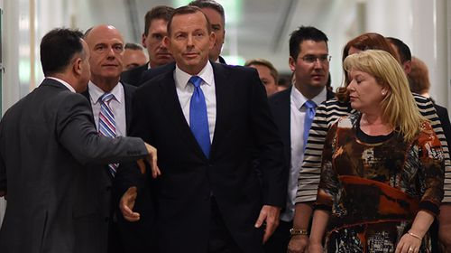 'Hurt' and 'drained' Tony Abbott yet to appear publicly since losing leadership