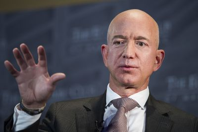Jeff Bezos' staggering jump in wealth