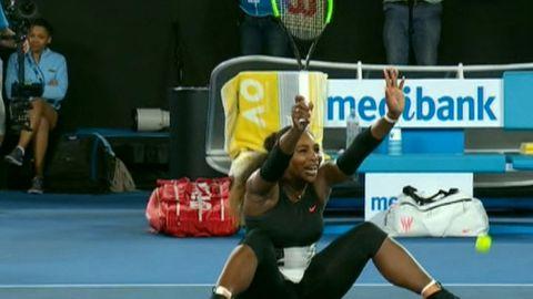 Serena's Australian Open shoutout