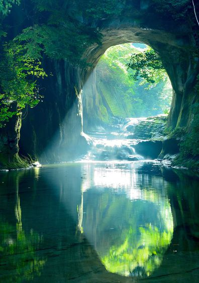 Image result for heart reflection in cave with water