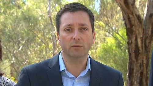 Liberal leader Matthew Guy accused the government of losing control of crime.