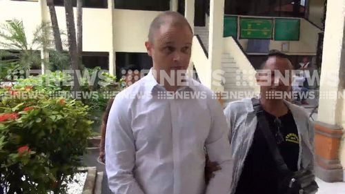 He said the drugs were for his personal use. (9NEWS)