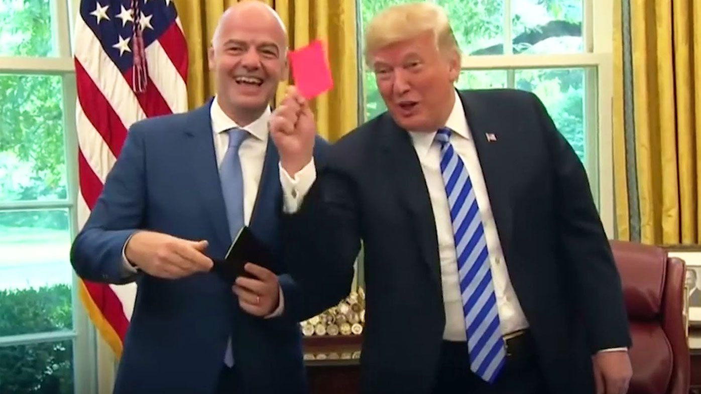 Trump and Infantino