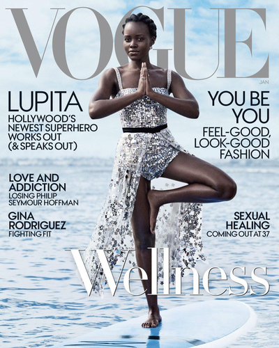 """<p>Lupita Nyong'o doesn&rsquo;t do much without bringing her A-Game, and gracing the cover of the new issue of <em>U.S Vogue</em> is no exception.</p> <p>The actress shows us just how fierce she is as she stands on a surfboard while acing the tree pose for the <a href=""""https://www.vogue.com/article/lupita-nyongo-black-panther-vogue-january-2018-issue"""" target=""""_blank"""" draggable=""""false"""">magazine&rsquo;s January wellness issue.</a></p> <p>Lucky for us, with Nyong'o&rsquo;s latest Star Wars movie, <em>The Last Jedi</em>, set to hit cinemas later this week, we&rsquo;re about to see a lot more of the star.</p> <p>Just days ago Nyong'o wowed crowds on the red carpet in London in a sequinned green dress from up-and-coming London fashion house, Halpern.</p> <p>This isn&rsquo;t the first time she&rsquo;s stunned on the red carpet. The fashion goddess rarely puts a fashion foot wrong. Take a look at some of her best moments.</p>"""